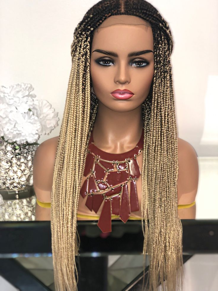 """aria"" 1b/27 box braids in 2020 Braids wig, Hair color"