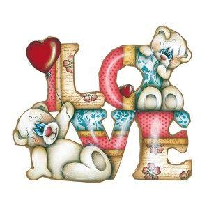 Aplique-Decoupage-Recorte-Mdf-Ursinhos-Love-LMAPC-388---Litocart
