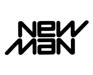 Raymond Loewy _ New Man ambigram (1969) I was a buyer for this company in the early 1980's (Beccaria's Best)
