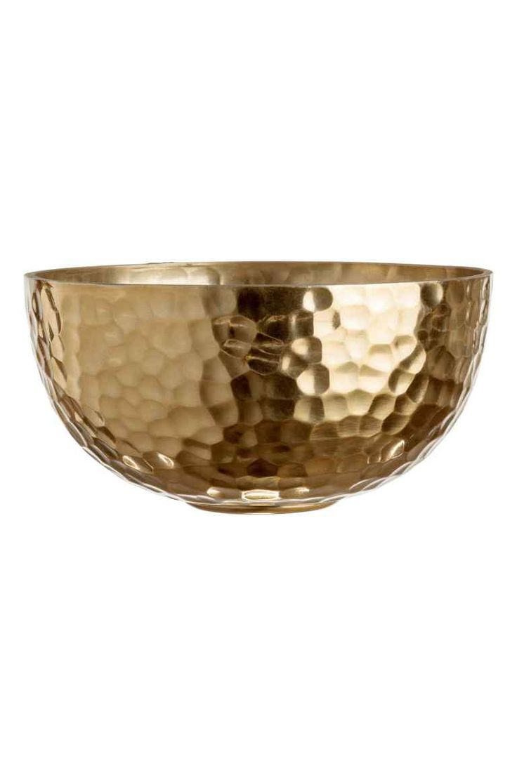 Bowl - Gold - Home All   H&M GB