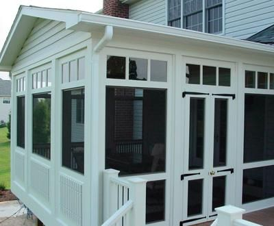 square new screened porch small buildings sheds cabanas systems pool screen aluminum home depot retractable