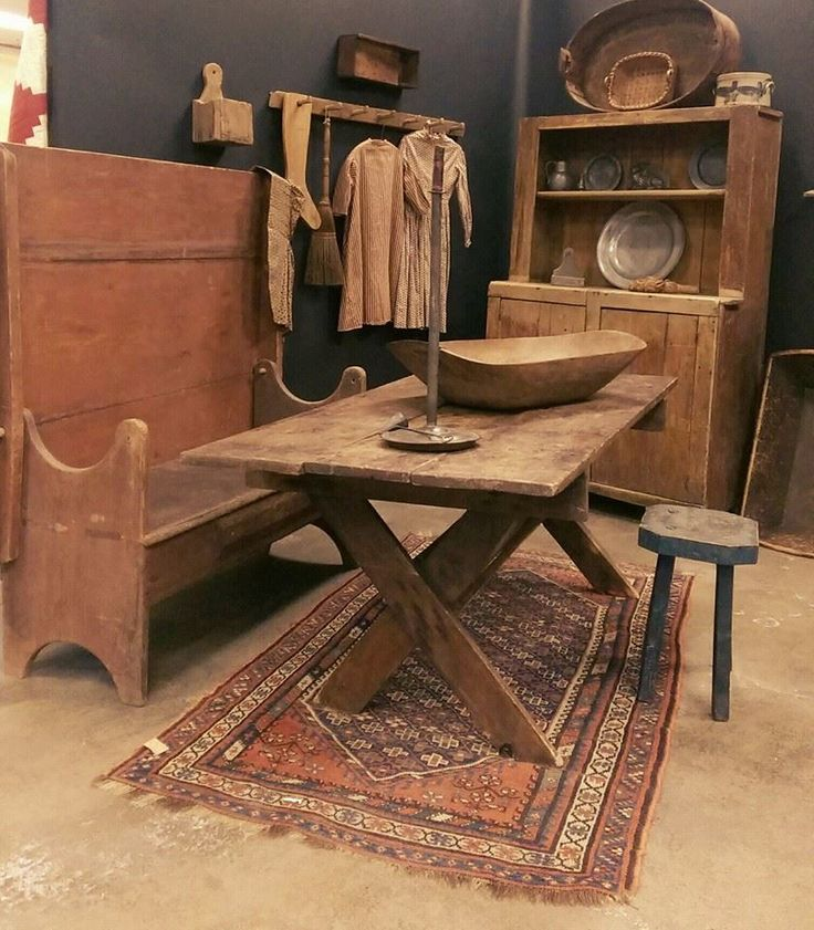 """we have just added in several wonderful """"stashed away """" Early Country Finds To our Daily Dose. Stop in for a peek!!! www.earlycountryantiques.com"""