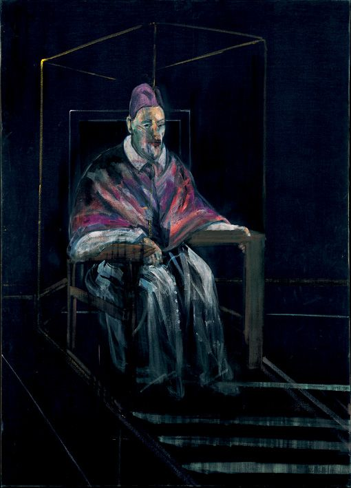 Francis Bacon, 'Study for a Portrait No. 1 (1956) Oil on canvas. © The Estate of Francis Bacon / DACS London 2013. All rights reserved.