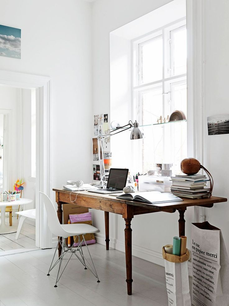 Creative Workspace Beautiful Home Office