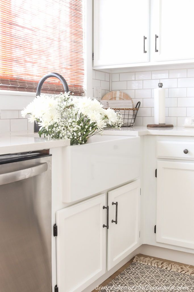 Diy Farmhouse Sink Installation With Images Farmhouse Sink