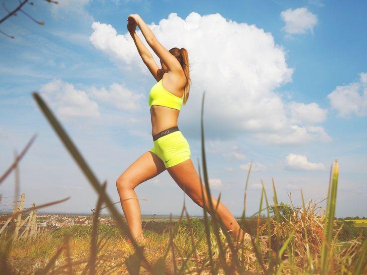 Caldura de afara nu este o scuza ca sa nu faci sport. Trebuie sa te mentii fit si in timpul verii.