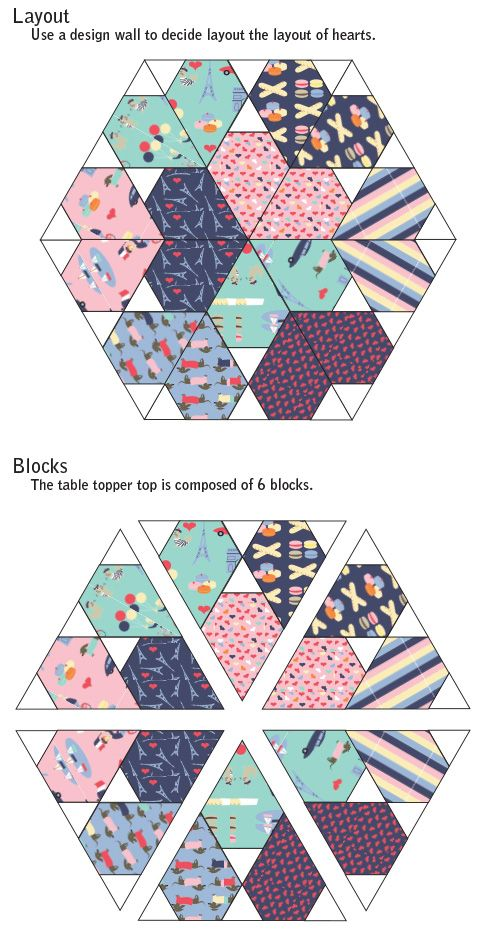 Jaybird Quilts: Sweetheart Table Topper Tutorial