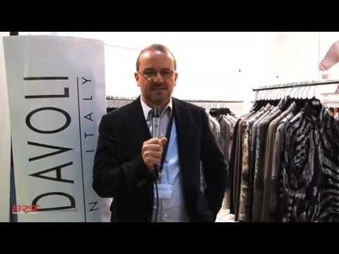Paola Davoli - Maglieria Donna Abbigliamento italiano intervista e presentazione video fiera tradeshow