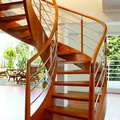 Trąbczyński: modern stairs