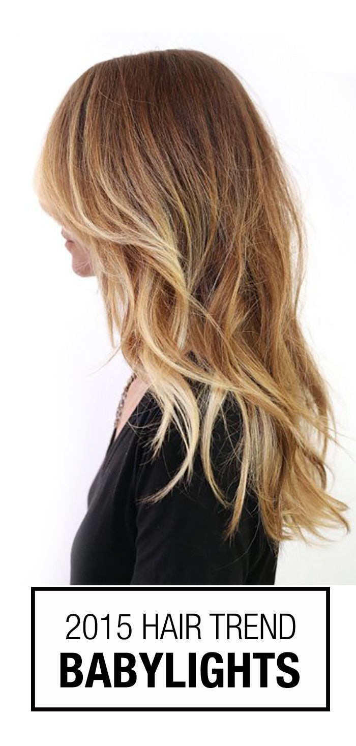 Babylights! They are so perfect for creating gorgeous, healthy blonde hair colors. Bonus: it's also a low maintenance blonde hair color that won't break the bank (or your hair)!