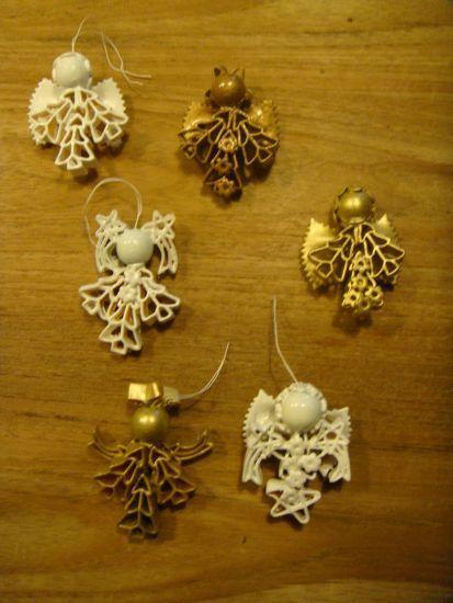 macaroni engelen | knutselen - Preschool christmas crafts ...