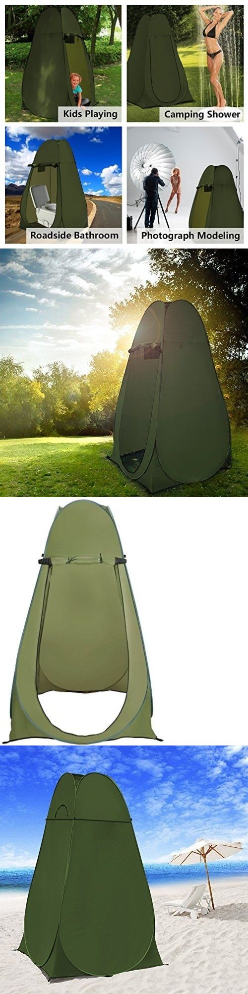 Other Camping Hygiene Accs 181400: Shower Tent Changing Portable Camping Beach Pop Up Toilet Room Outdoor Backpack BUY IT NOW ONLY: $62.99