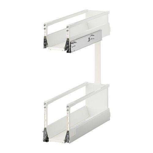 IKEA - MAXIMERA, Utdragbar inredning, 25 års garanti. Läs om villkoren i garantibroschyren.Du kan se och nå innehållet, eftersom lådan går att dra hela vägen ut.
