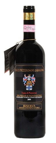 Brunello di Montalcino Pianrosso Riserva DOCG 2007 – Ciacci Piccolomini d'Aragona – ToscanaRuby Red tending to Garnet. Intense, broad and complex. Fruity, spicy, sometimes Ethereal: notes of ripe red berry fruit blend nicely with lots of spice. On the palate it is warm, harmonious with pronounced but soft tannins; a wine with great body with lingering taste and smell, which will evolve with a long ageing in the bottle.