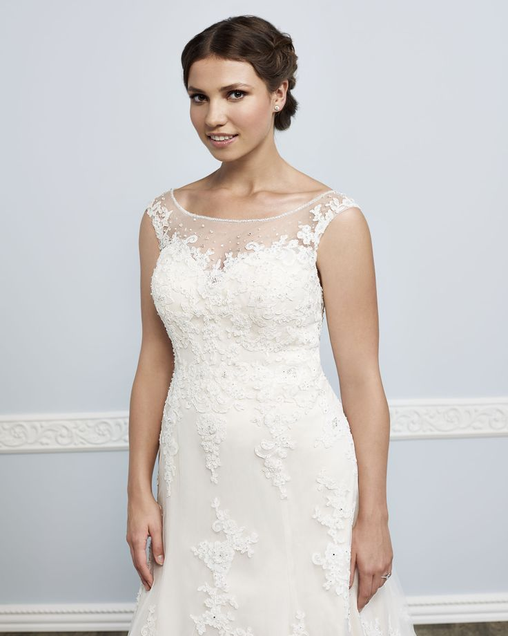 Femme by Kenneth Winston Style 3385 | gorgeous gowns for our curvy brides #bridal #weddingdress