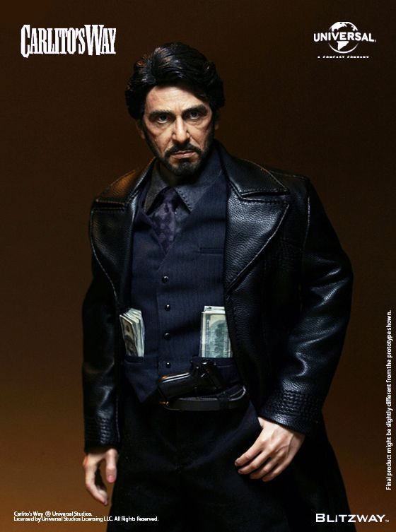 onesixthscalepictures: BlitzWay Carlito's Way Carlito Brigante : Latest product news for 1/6 scale figures (12 inch collectibles) from Sideshows Collectibles, Hot Toys, Medicom, TTL, Triad Toys, Enterbay and others.