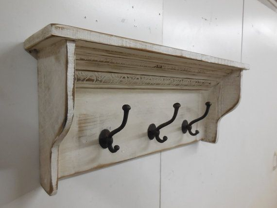 French Country Coat Rack Primitive Coat Rack by LynxCreekDesigns, $79.99