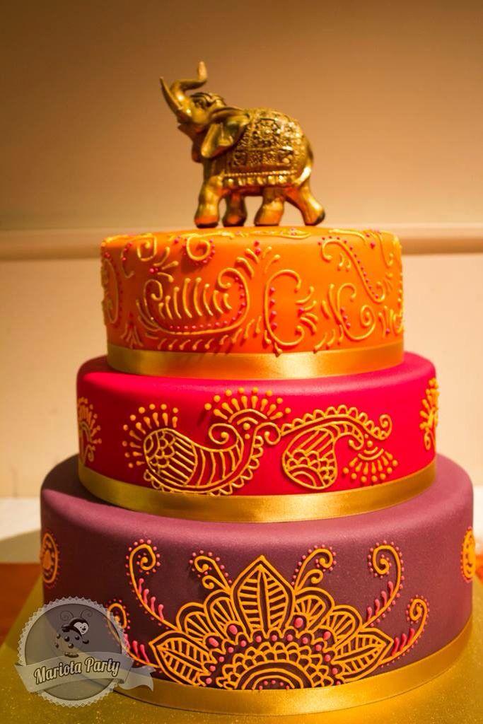 Pastel para boda Hindú