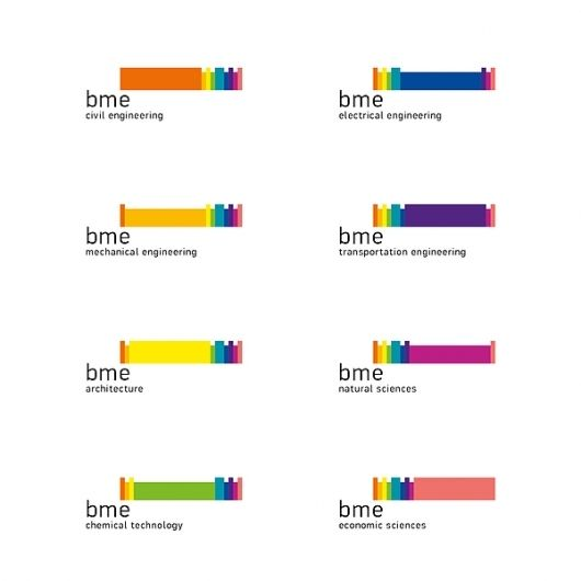 BME / UNIVERSITY LOGO AND PICTOGRAMS REDESIGN on the Behance Network