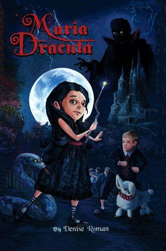 Maria Dracula: A Fantasy Novel for Children @ niftywarehouse.com #NiftyWarehouse #Dracula #Vampires #ClassicHorrorMovies #Horror #Movies #Halloween #Vampire