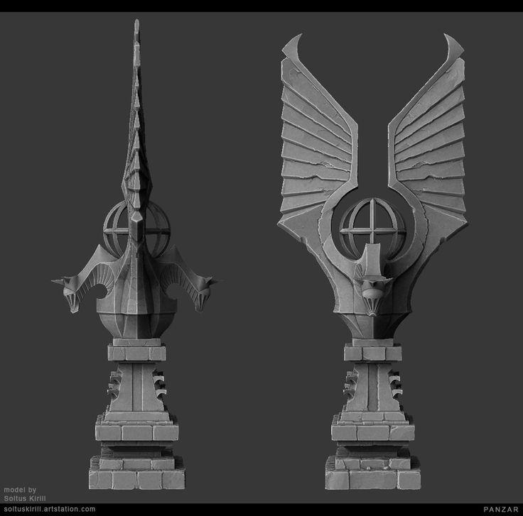 ArtStation - Environment Set #1, Soltus Kirill