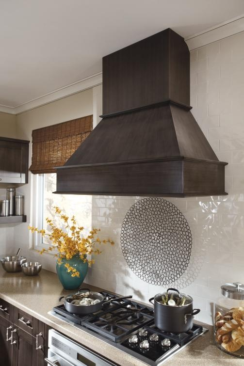 Expand Upon The Beauty Of Your Kitchen By Adding A Decorative Wood Hood  From Kitchen Craft