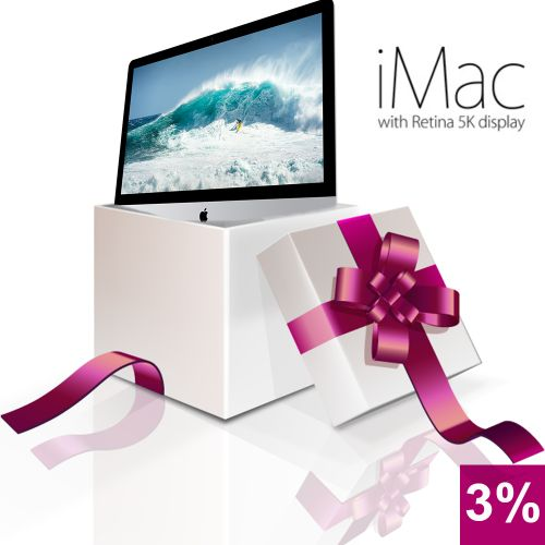 iMAC 27-inch iMac with Retina 5K display  INSTANT BOX 3%