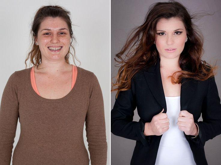 Glamour Makeover – Lee-Anne Leverne Hair & Make-up Artist