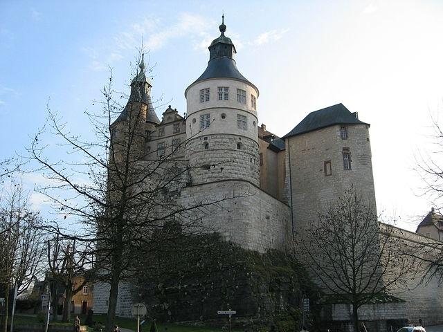Château des ducs de Wurtemberg à Montbéliard © domaine public