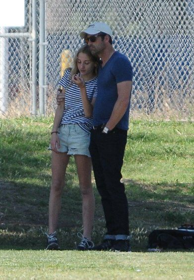 Patrick Dempsey Daughter Tallulah Now | Patrick Dempsey Watching His Son Play at a Soccer Game! | Posh24.com
