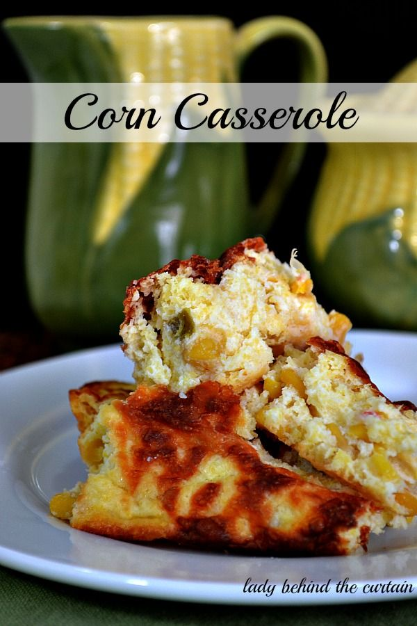 Lady Behind The Curtain - Corn Casserole