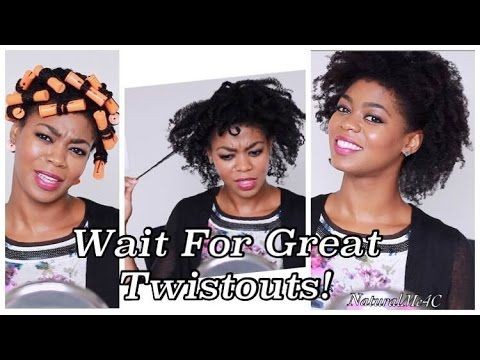 Wait For Great Twistouts! - Full Twist & Curl Takedown Talk Through - 4C Natural Hair - YouTube