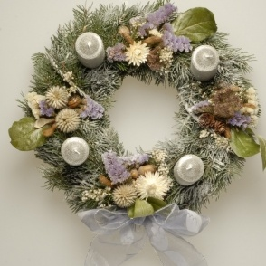 "Advent wreath ""Christmas winter tale"""