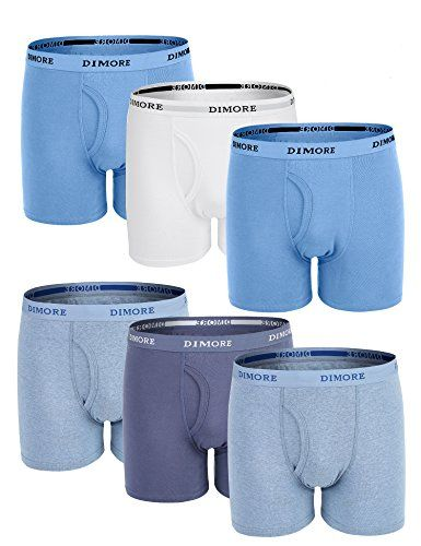 Dimore 6 Pack Cotton Stretch Boxer Briefs Underwear Shorts for Men,Large - Men's Boxer Briefs Cotton Stretch Underwear with Elastic Waistband(6-Pack) : Value Pack Men Cotton Classic Boxer Briefs :6 pack of men cotton boxer shorts with different colors in a transparent plastic bag. Each featuring elastic waistband and functional fly.Men Boxer Shorts Features & Performanc...
