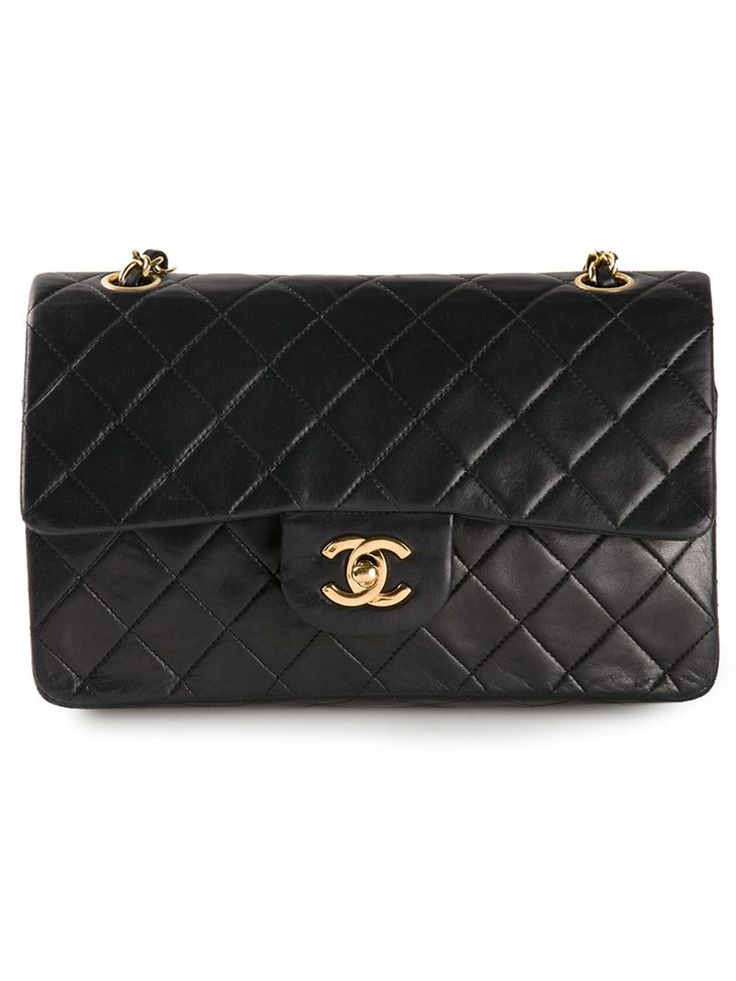 CHANEL VINTAGE small double flap bag