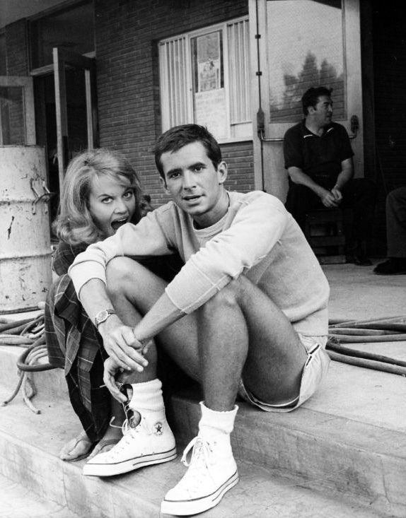 Jane Fonda & Anthony Perkins