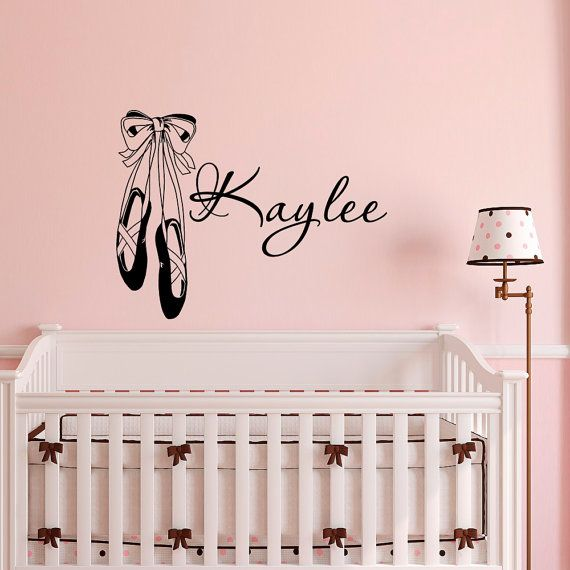 Best Personalized Decals Images On Pinterest Name Wall Decals - Custom vinyl wall decals dance