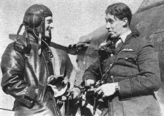 "Pictured as DOG FIGHTERS in RAeC's Flight of 21 March 1940, F/O Edgar J ""Cobber"" Kain appears to the right of Sgt Donald A Sewell as another unnamed pilot of No 73 Squadron RAF at Rouvres in 1940. The combat mentioned refers to his third victory on the afternoon of 2 March, when fighting an action with 2 Me 109 fighters of JG53, claiming one near Saarbrücken, while the second stooped his engine with a cannon shell leaving the 21-year-old New Zealander to glide 30m from 20,000ft to reach…"