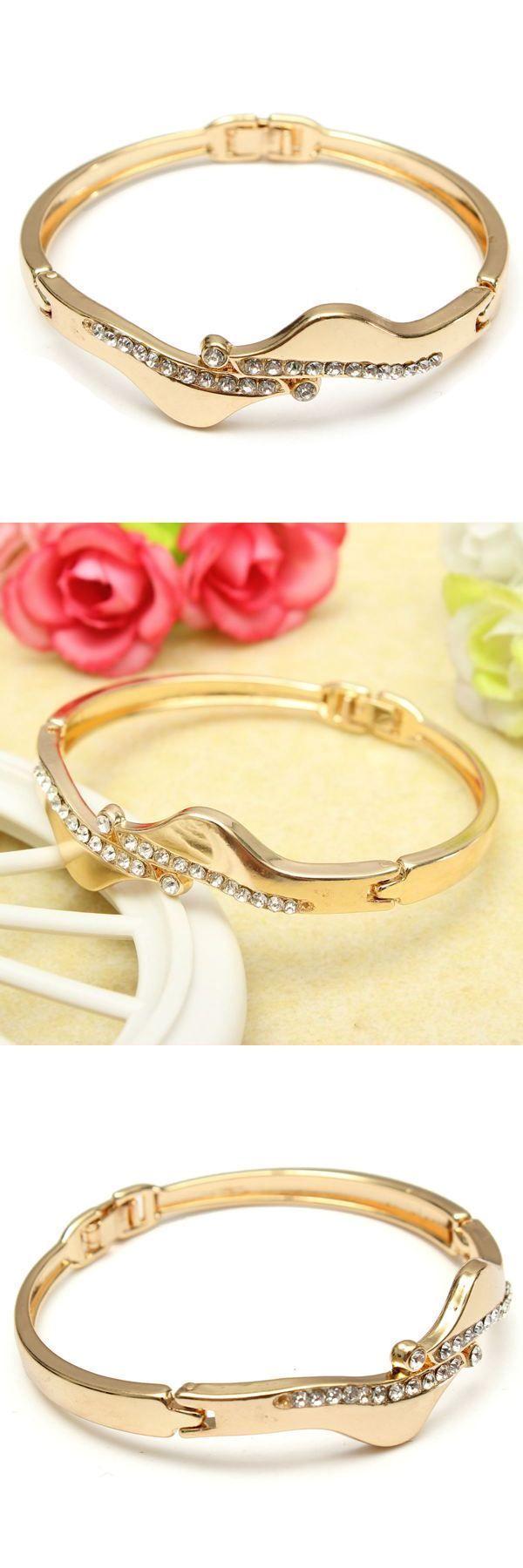 3 sisters bracelets gold plated filled crystal link bracelet bangle women jewelry #8.5 #bracelets #cynthia #h #bracelets #ddamas #bracelets #maroon #5 #bracelets