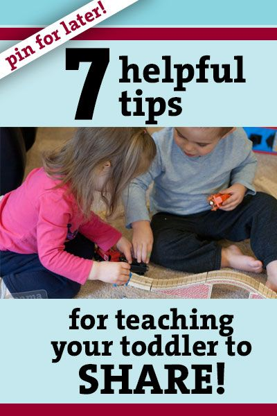 Great tips written by a mother of a toddler on how to help your little one learn to share! #toddlers #behavior #sharing