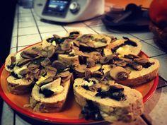 A dieta con il Bimby TM5 dimagrire con gusto - Polpettone spinaci e funghi