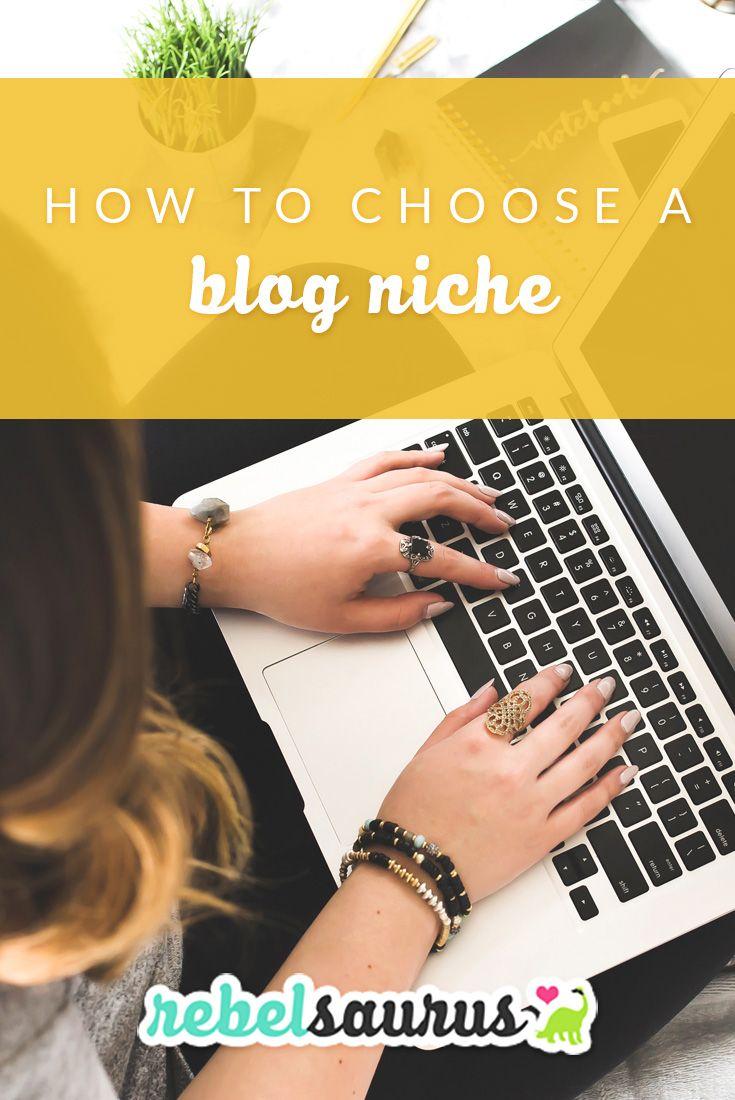 Choosing blogging niche