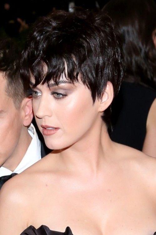 Katy Perry Pixie Celebrity Short Hair Katy Perry Katy