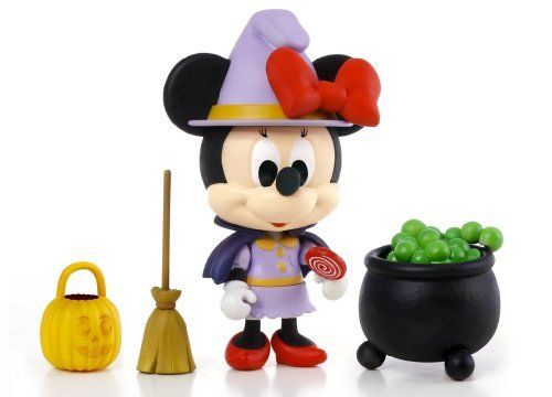 "Disney Play Buddies 3.5"" Play set - Halloween - Minnie [33146] by Dragon. $25.99. Play Buddies Collection comprises different Disney characters in a setting that brings customers back to their nostalgic Hong Kong childhood.  Halloween, a widely celebrated festival known for its fun activities such as trick-or-treating, costume parties, carving jack-o-lanterns, lighting bonfires, apple bobbing, visiting haunted attractions, watching horror films and many more.  Minnie has joi..."