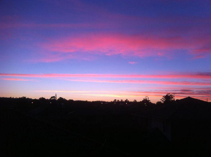 Sky #pinkish