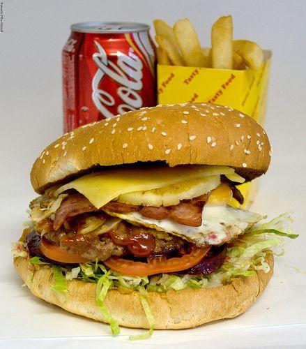 Another Aussie burger