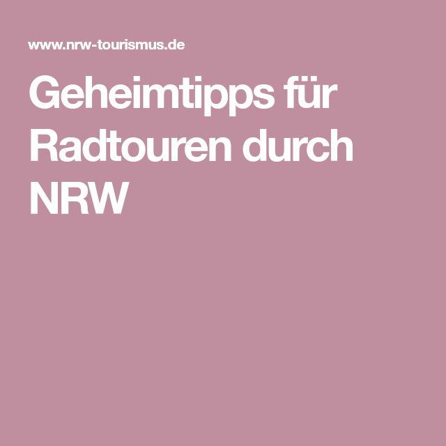 Geheimtipps für Radtouren durch NRW – R