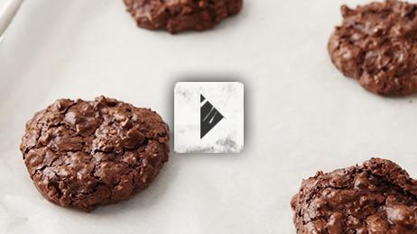 Flourless Double Chocolate Pecan Cookies | Recipes - Cookies/Bars | P ...