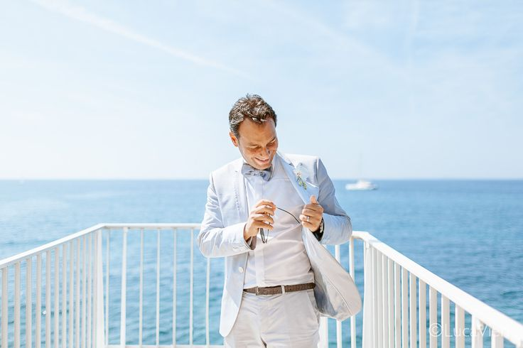 Dapper groom in French Riviera  #weddingphotography #nice06 @luca_vieri