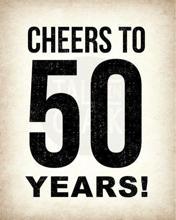 It's just a photo of Printable 50th Birthday Signs for 40th birthday